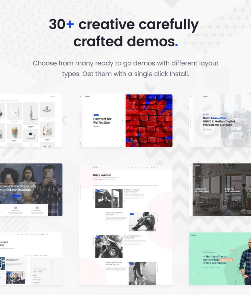 Nerebro Multipurpose WordPress themes