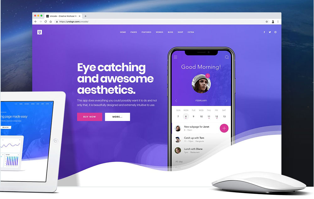 Uncode multipurpose WordPress themes